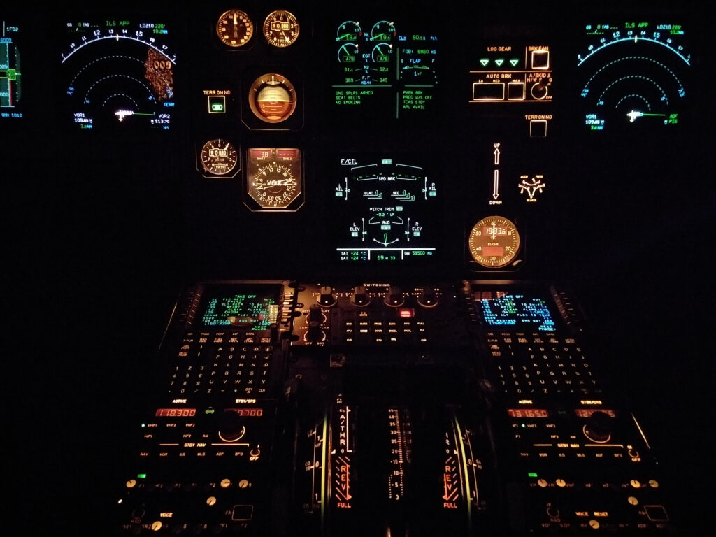 controls of an aeroplane_internal controls for finance director
